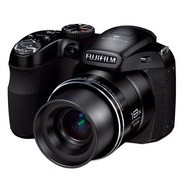 Fuji FinePix S2980 HD 14MP Black Digital Camera