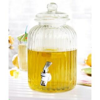 Style Setter Springfield Glass Beverage Dispenser