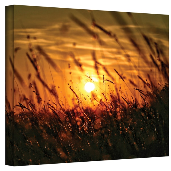Mark Ross 'Evening with the Quiet Voice' Wrapped Canvas Art