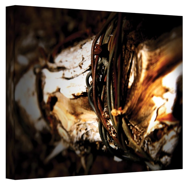 Mark Ross 'Mend' Wrapped Canvas Art