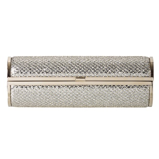 Jimmy Choo &#39;Cosma&#39; Glitter Fabric Cylinder Clutch