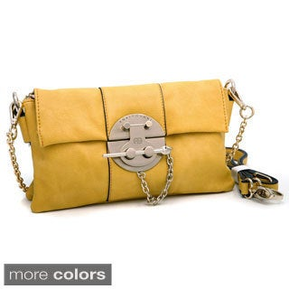 Anais Gvani Clutch with Shoulder Strap
