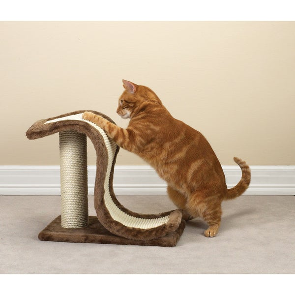 Meow Town Scratch 'N Slide Scratching Post