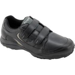 Men's Propet Journey Leather Strap Black/Pewter