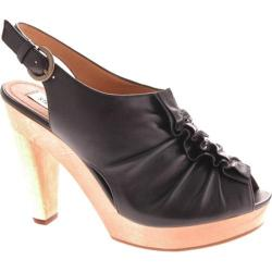 Women's Steve Madden Prego Black Leather