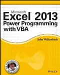 Excel 2013 Power Programming with VBA (Paperback)