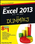 Excel 2013 All-In-One for Dummies (Paperback)