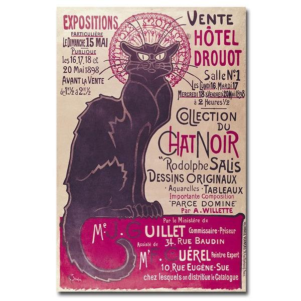 Theophile Steinlen 'Collection du Chat Noir' Canvas Art