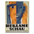 Lucian Bernard 'Reklameschau 1929' Canvas Art
