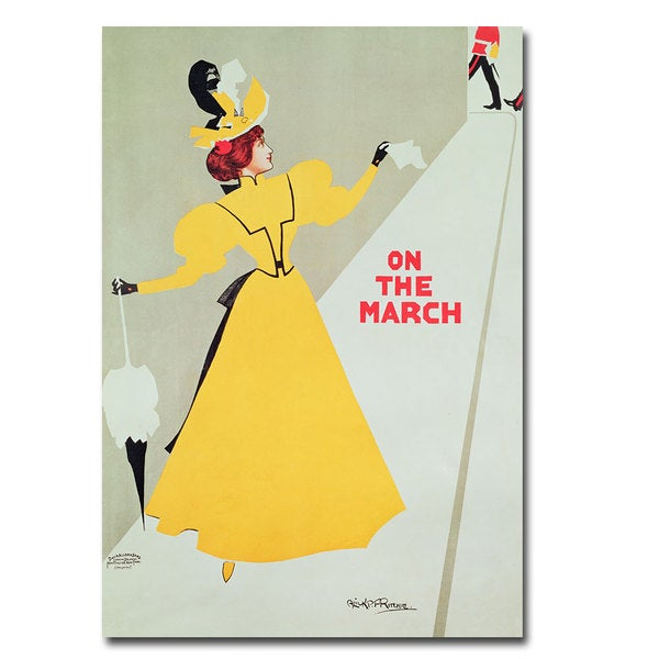 Alick Ritchie 'On the March' Canvas Art