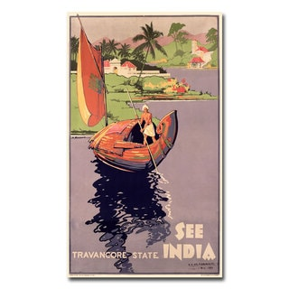 'See India' Canvas Art