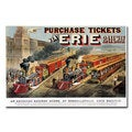 N.Currier and JM Ives 'Erie Railway Homesville' Canvas Art