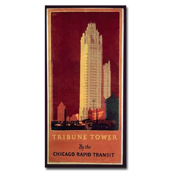 Norman Erikson 'Tribune Tower' Canvas Art