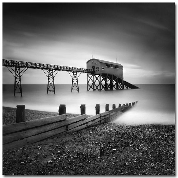 Nina Papiorek 'Selsey Lifeboat Station' Canvas Art