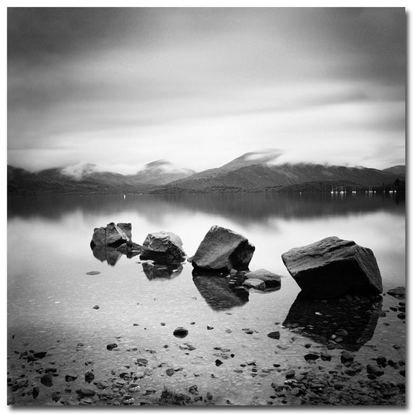 Nina Papiorek 'Scotland Loch Lomond' Canvas Art