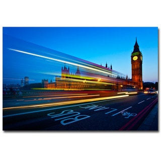 Nina Papiorek 'London Big Ben' Canvas Art
