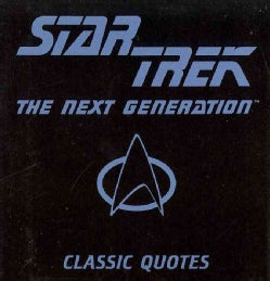 Star Trek the Next Generation Classic Quotes (Hardcover)
