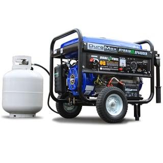 DuroMax Duel Fuel 4,400 Watt Hybrid Propane/ Gasoline Portable Generator