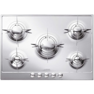 Smeg PU75 Piano Design Stainless Steel Burners