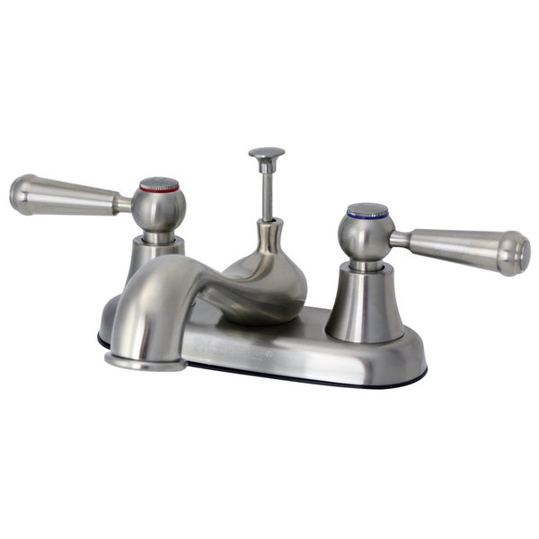 Price Pfister Brushed Nickel 2-handle Centerset Bathroom Faucet