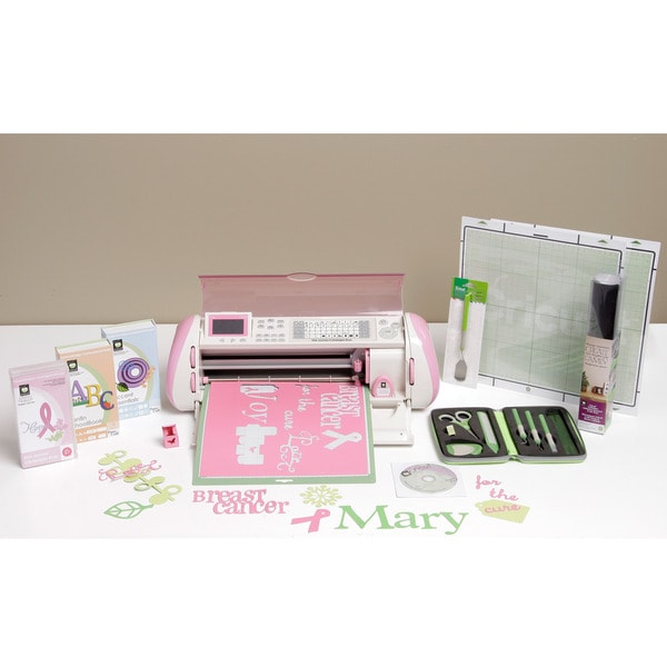Cricut Expression Pink DieCutting Machine Bundle