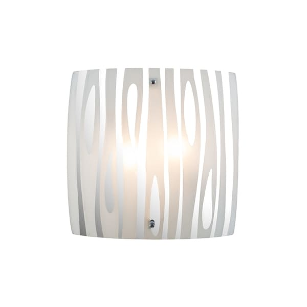 Alternating Current Chroman Empire 2-light Chrome Wall Sconce