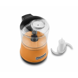 KitchenAid RKFC3511TG Tangerine 2-speed Food Chopper (Refurbished)