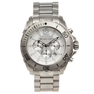 Michael Kors Men's Stainless Steel 'Drake' Chronograph Watch