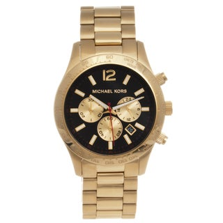 Michael Kors Men's MK8246 Goldtone Steel 'Layton' Chronograph Watch