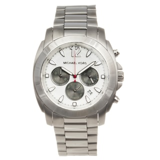 Michael Kors Men's Stainless Steel 'Bradshaw' Chronograph Watch
