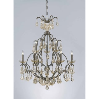 Versailles 9-light Antique Bronze Chandelier