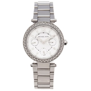 Michael Kors Women's MK5615 Parker Glitz Stainless Steel Watch