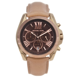 Michael Kors Women's MK5630 Two-tone Steel 'Bradshaw' Chronograph Watch