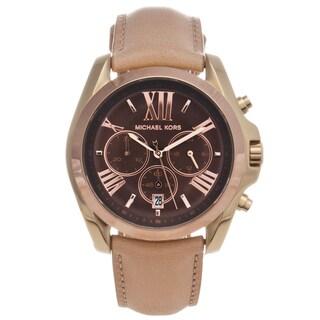 Michael Kors Women's MK5630 Two-tone Steel 'Bradshaw' Chronograph Watch