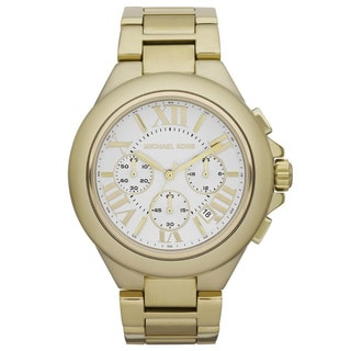 Michael Kors Women's MK5635 Gold-Tone Chronograph Watch