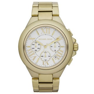 Michael Kors Women's Goldtone Chronograph Watch
