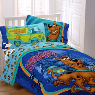 Scooby Doo 'A Scooby Mystery' 4-piece Bed in a Bag with Sheet Set