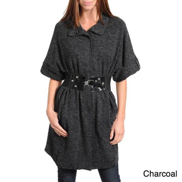 Stanzino Women's Belted Sweater Tunic