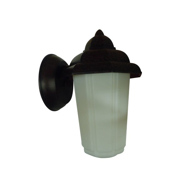 Energy Saver 1-light Rubbed Bronze Outdoor Wall Lantern