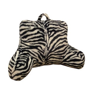 Zebra Animal Fur Bedrest/ Lounger