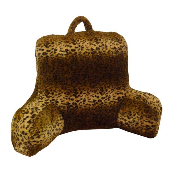 Cheetah Animal Fur Wheat Bedrest/ Lounger