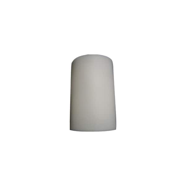 White Two-light Wall Sconce Fixture