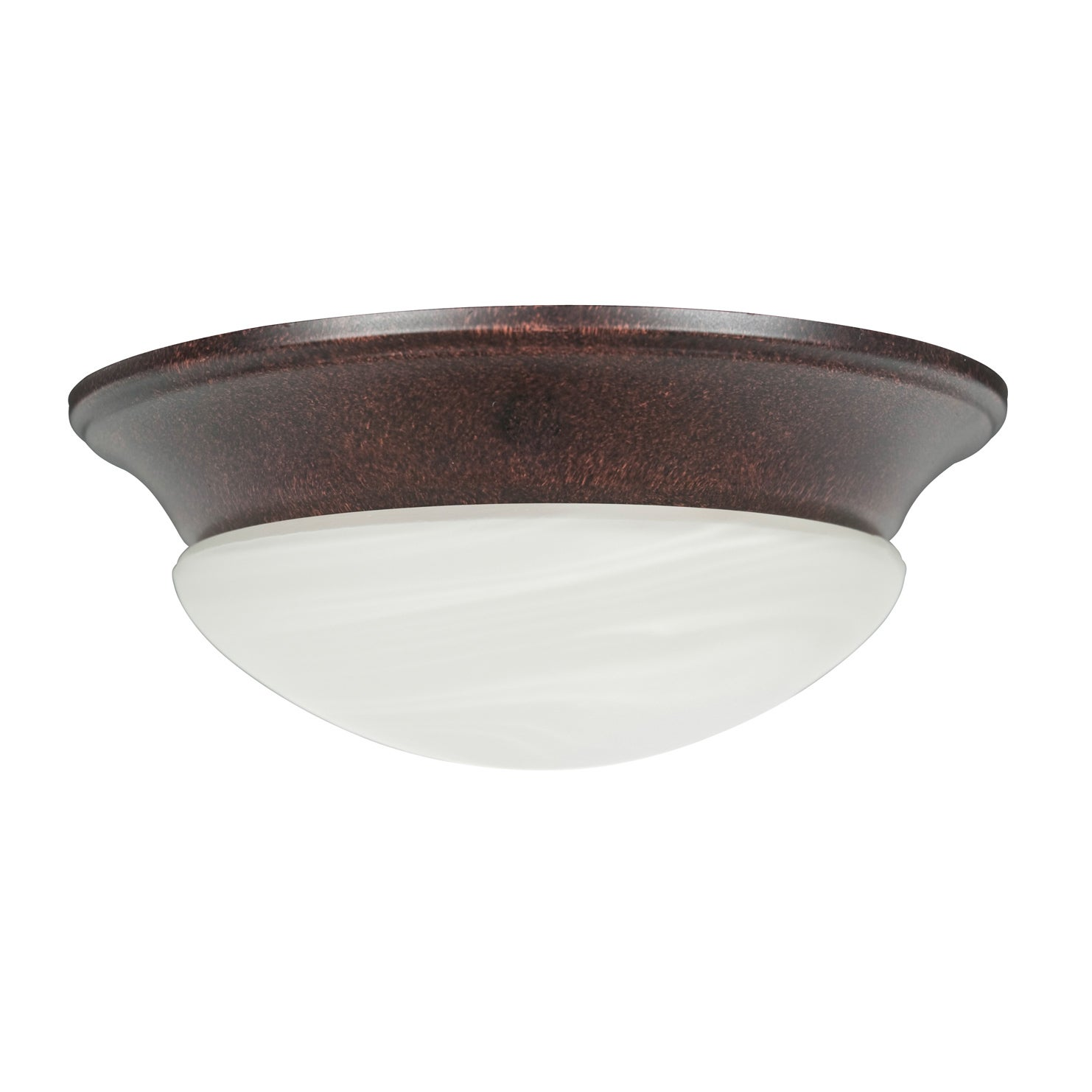 Overstock.com Rubbed Bronze Two-light Ceiling Fan Light Kit at Sears.com