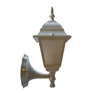 White One-light Wall Lantern