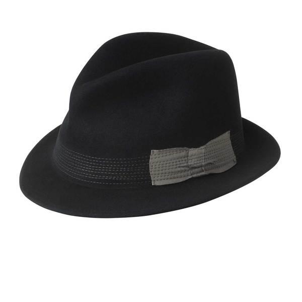 Baily of Hollywood Men's 'Raf' Black Cashmere Blend Hat