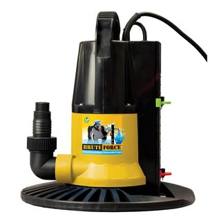 2450 GPH in Ground Pool Winter Cover Pump with Base - Auto On/Off