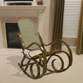 Alexandria Oak Finish Bentwood Rocker