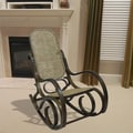 Alexandria Chestnut Finish Bentwood Rocker