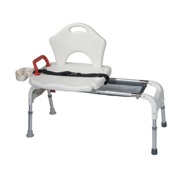 Folding Universal Sliding Transfer Bench (As Is Item)