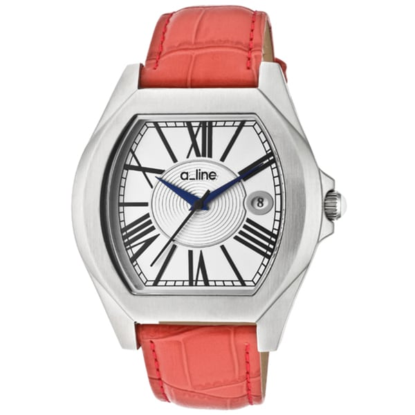 A Line Women's 'Adore' Red Genuine Leather Watch